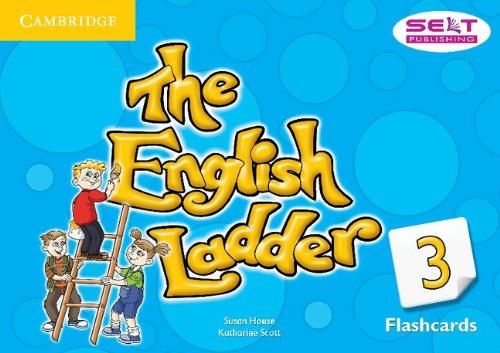 The English Ladder 3 Flashcards (Pack of 72)