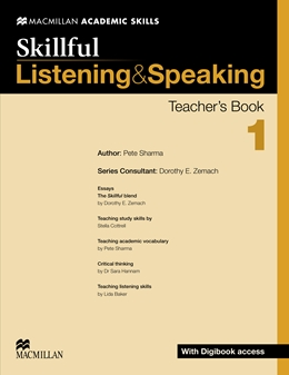 Skillful Listening and Speaking Level 1 Teacher's Book + Digibook