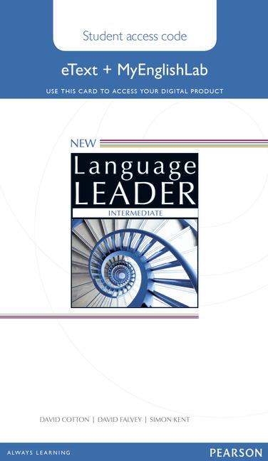 New Language Leader Intermediate eText Coursebook with MyEnglishLab Pack (Workbook)