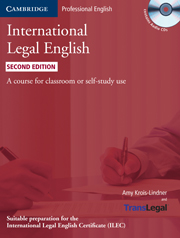 International Legal English (Second Edition) Student's Book with Audio CDs (3)