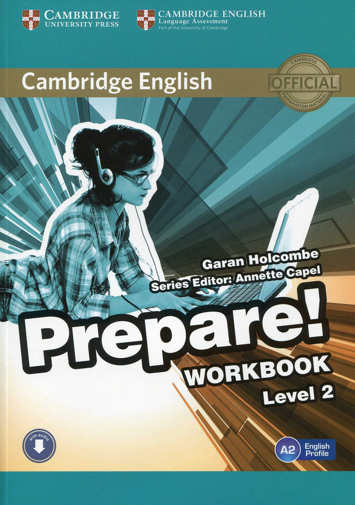 Cambridge English Prepare! Level 2 Workbook with Audio-online
