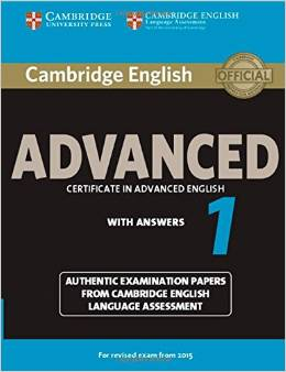 Cambridge English Advanced 1 (for revised exam 2015) Student's Book with Answers
