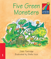 Cambridge Storybooks Level 1 Five Green Monsters
