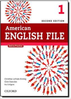 American English File Second edition Level 1 Student Book with Online Skills