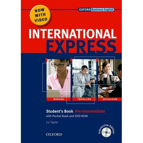 International Express, Interactive Editions Pre-Intermediate Student's Pack: (Student's Book, Pocket Book & DVD)