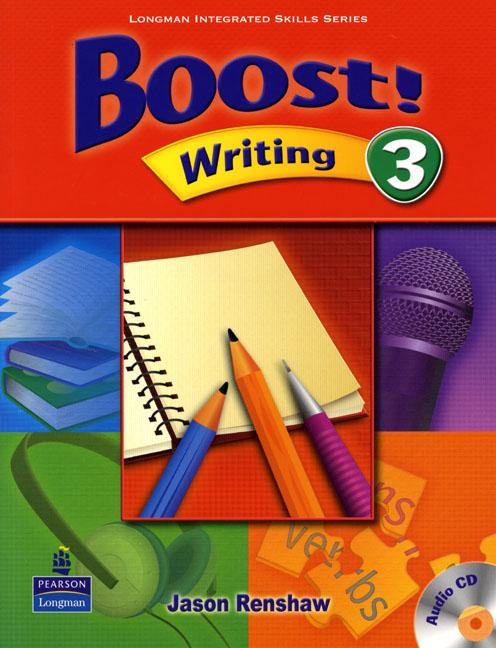 Boost Writing 3 Student's Book with Audio CD