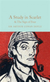 Macmillan Collector's Library: Doyle Arthur Conan. Study in Scarlet, a & The Sign of the Four  (HB)  Ned