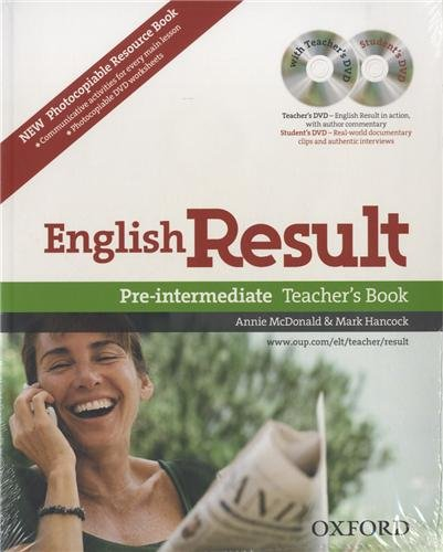 English Result Pre-intermediate Teacher's Resource Pack With DVD