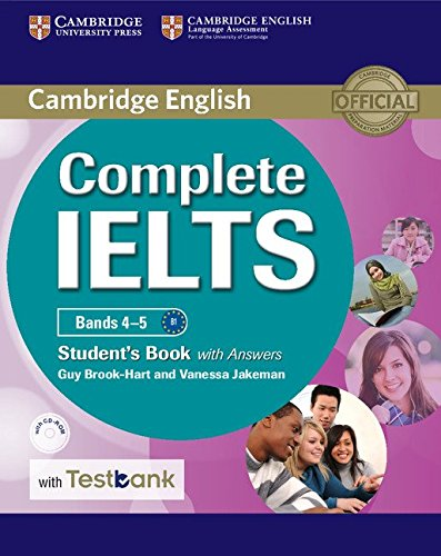 Complete IELTS Bands 4-5 Student's Book with answers with CD-ROM with Testbank