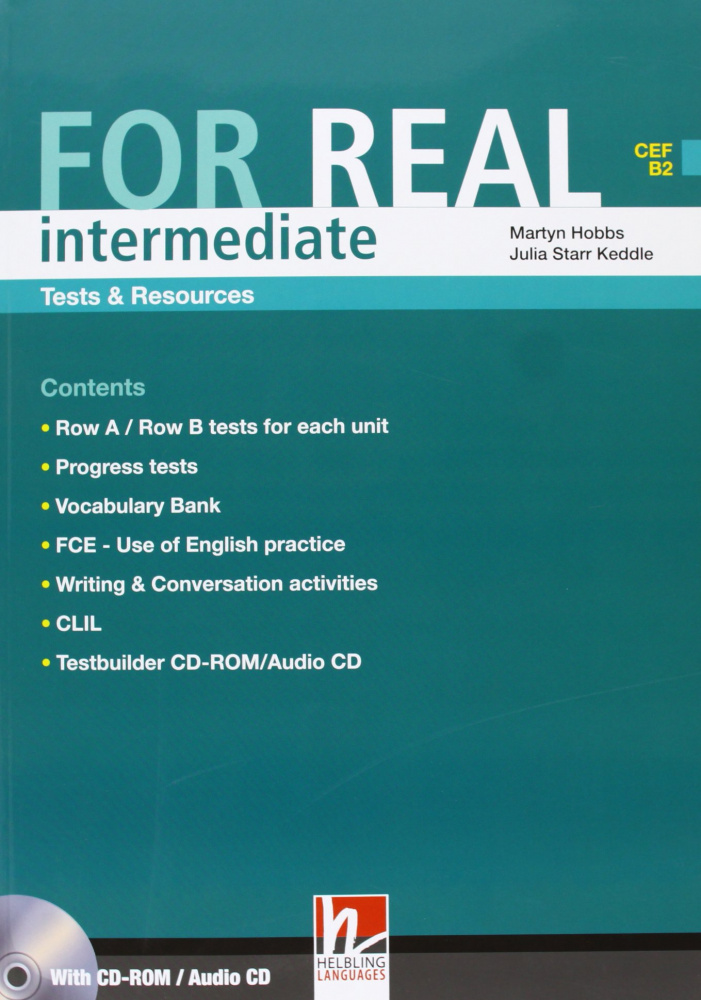 For Real Intermediate Test Resource + CD+CDR