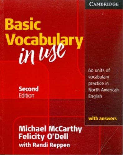 Basic Vocabulary in Use 2nd Edition Student's Book with answers