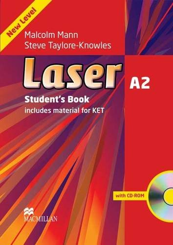 Laser Third Edition A2 Student's Book and CD ROM Pack