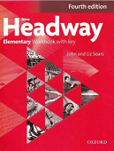 New Headway Elementary Fourth Edition Workbook with Key
