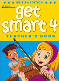 Get Smart British Edition 4 Teacher's Book with reduced-size student's pages, also including tests