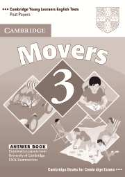 Cambridge Young Learners English Tests (Second Edition) Movers 3 Answer Booklet