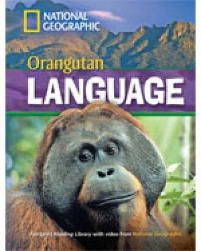 Fotoprint Reading Library B1 Orangutan Language with CD-ROM