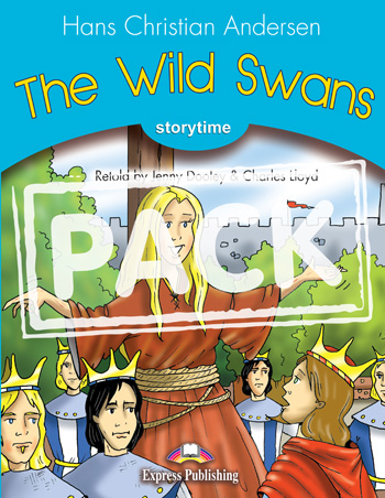Stage 1 - The Wild Swans Pupil's Book with Audio CD