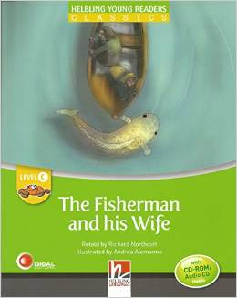 Helbling Young Readers Level C: The Fisherman and His Wife with CD-ROM/Audio CD