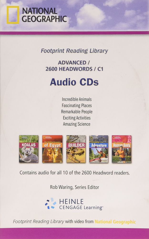 Fotoprint Reading Library C1 Audio CD (2600 words)