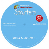 Practice Tests for YLE 2018 Starters: Class Audio CD