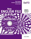 New English File Beginner Workbook with key and MultiROM Pack