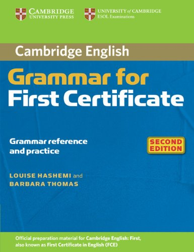 Cambridge Grammar for First Certificate (Second Edition) Book without answers