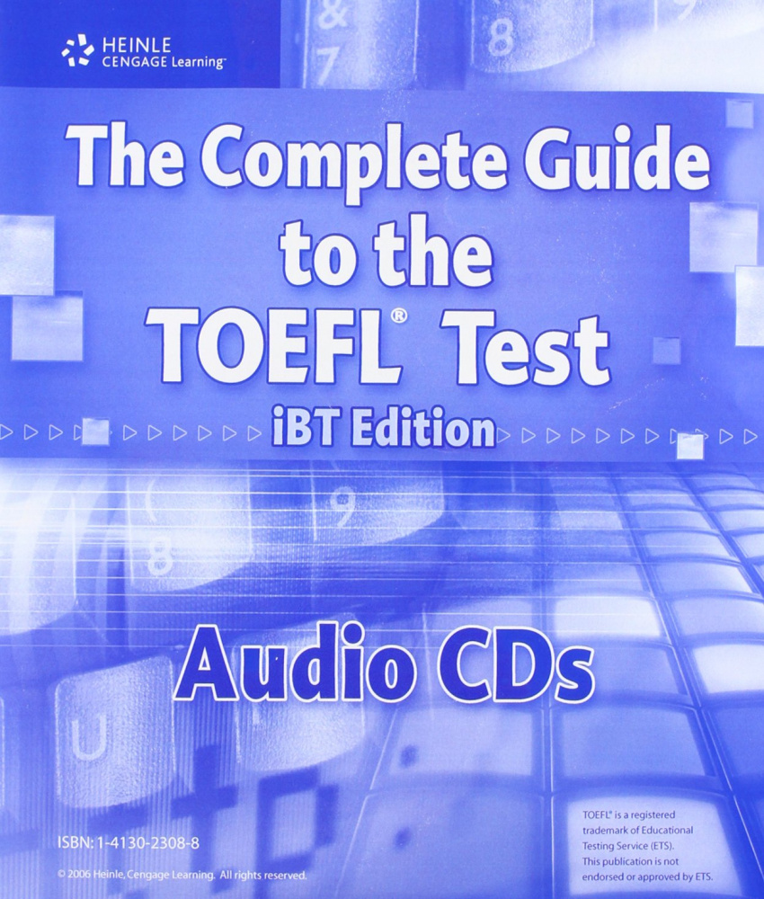 The Complete Guide to the TOEFL (IBT Edition) Audio CD(13)