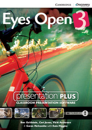 Eyes Open 3 Presentation Plus DVD-ROM