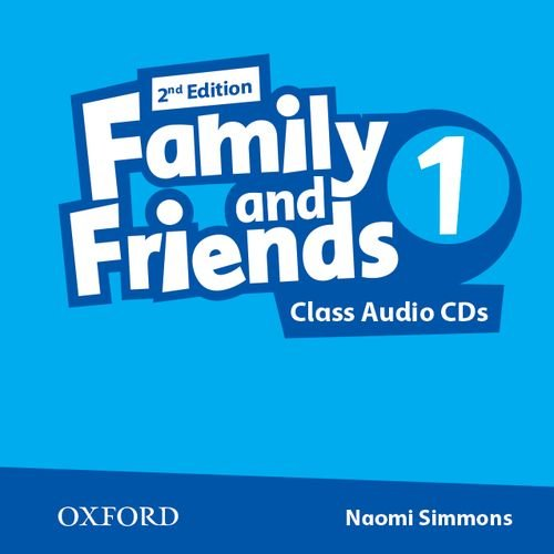 Family and Friends Second Edition 1 Class Audio CD's (2)