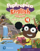 Poptropica English Islands 4 Pupil's Book and Online Game Access Card pack