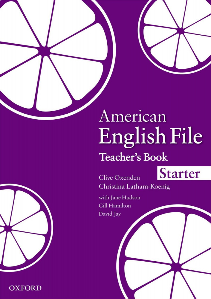 American English File Starter Teacher's Book