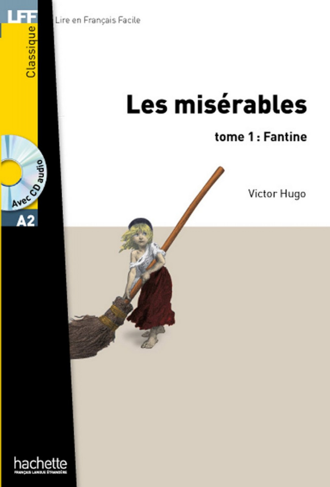 LFF A2 - Les Miserables tome 1: Fantine + CD audio MP3