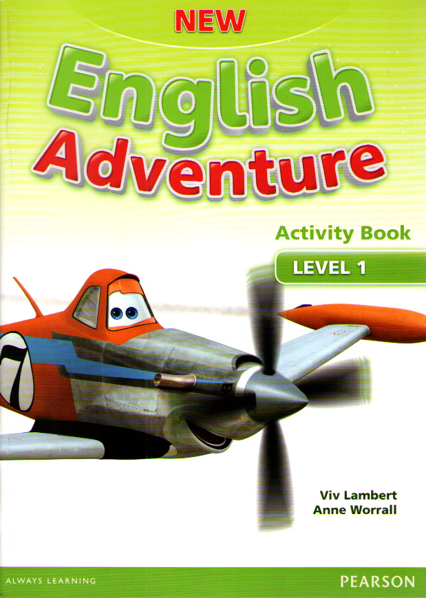 New English Adventure 1 Activity Book and Songs CD Pack
