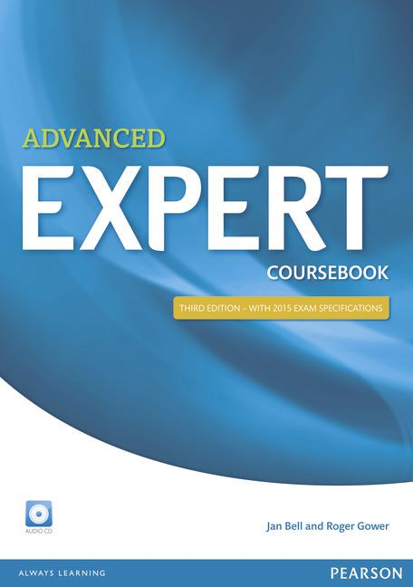 Expert Advanced Third Edition Coursebook with Audio CD