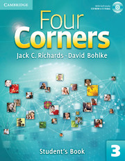 Four Corners Level 3 Student's Book with Self-study Audio CD and Online Workbook Pack