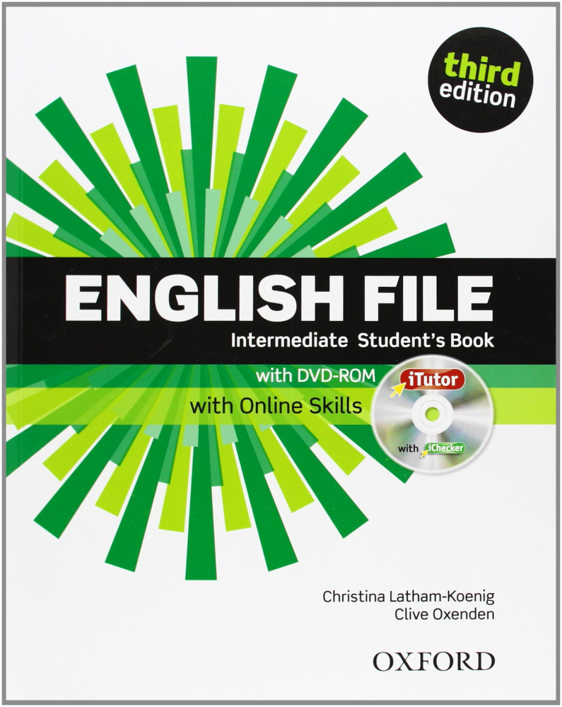 English File Third Edition Intermediate Student's Book with iTutor & Online Skills