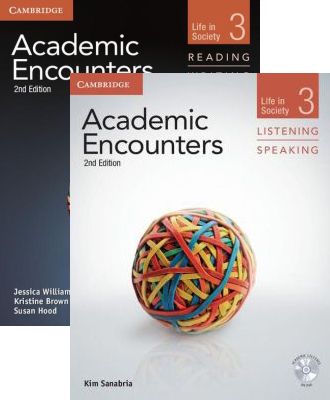 Academic Encounters 2nd Edition Level 3: 2-Book set (Student's Book Reading and Writing and Student's Book Listening and Speaking with DVD)