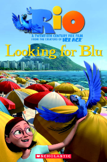 Level 3: Rio: Looking for Blu + Audio CD