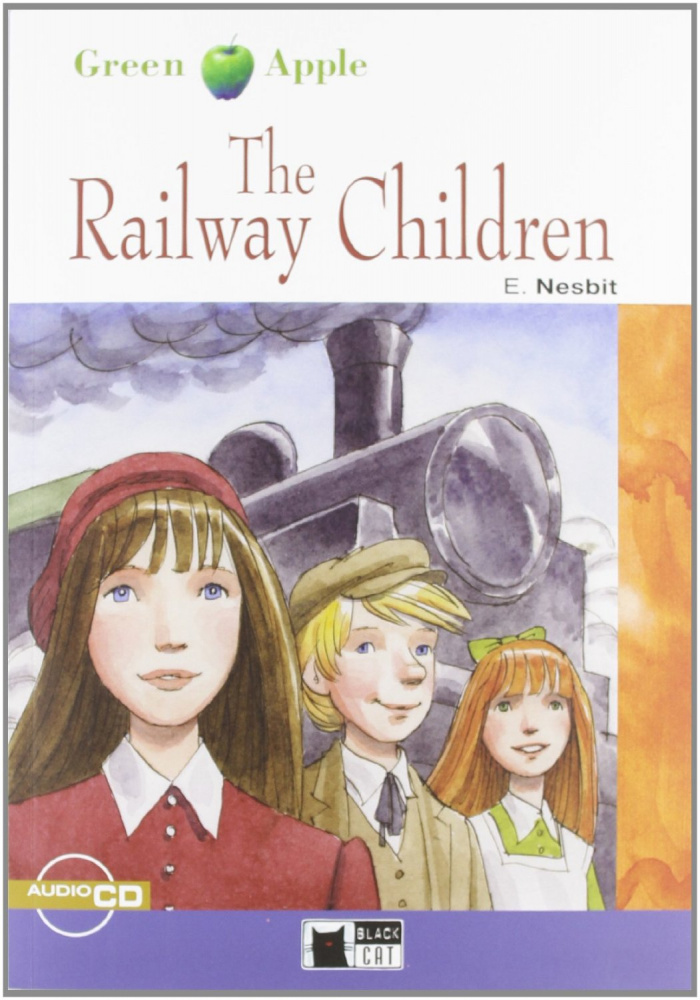 Green Apple Step1: The Railway Children with Audio CD