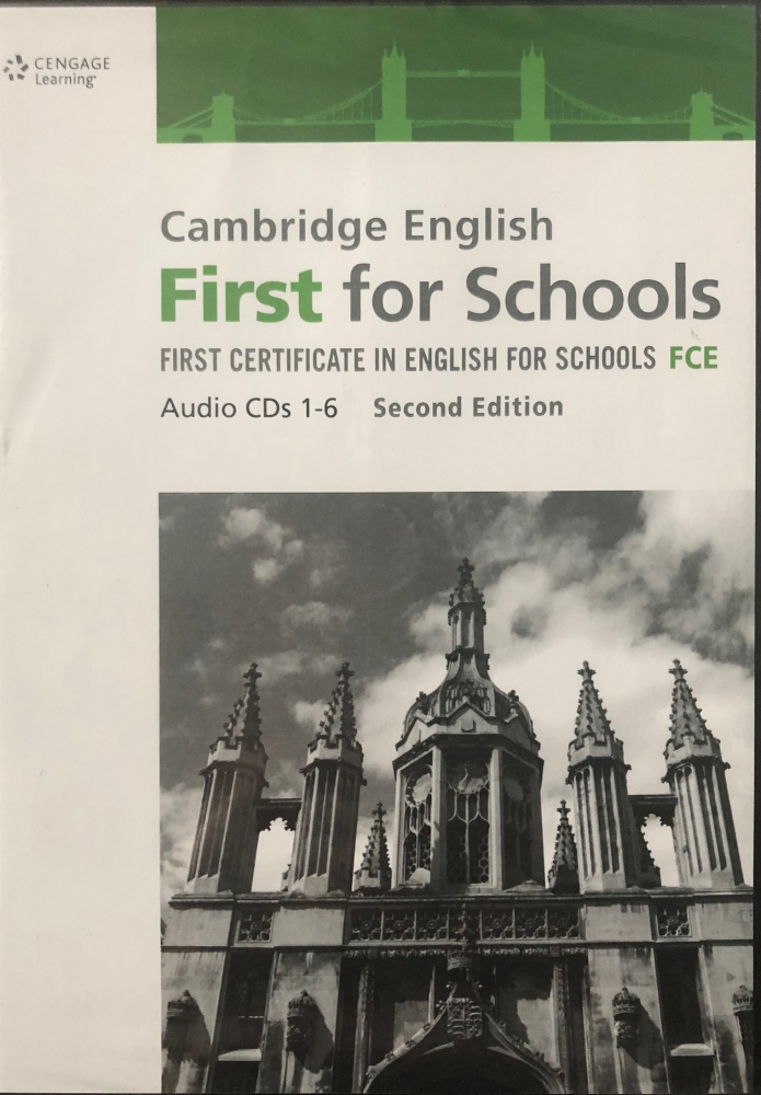 Cambridge English First for Schools Class Audio CD's