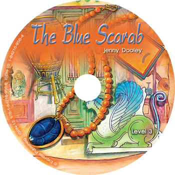 Graded Readers Level 3 The Blue Scarab Audio CD
