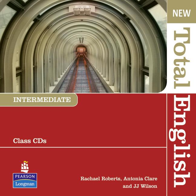 New Total English Intermediate Class Audio CDs (Лицензия)