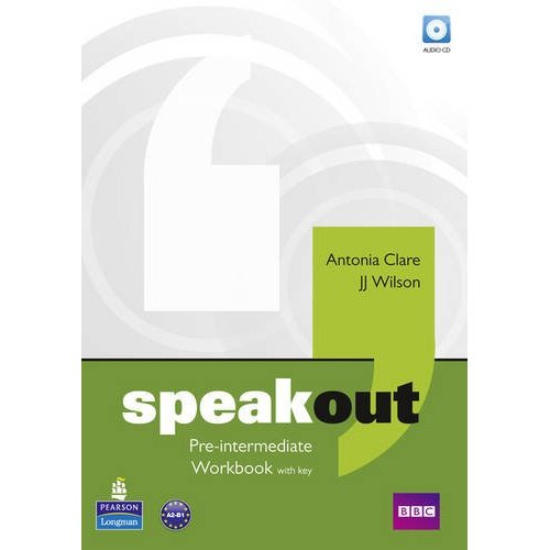 Speakout Pre-Intermediate Workbook with key and Audio CD