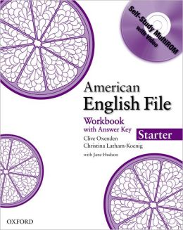 American English File Starter Workbook with MultiROM