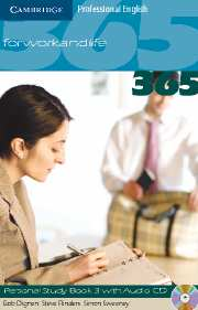 English365 Level 3 Personal Study Book with Audio CD