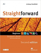 Straightforward (Second Edition) Beginner Student's Book + Webcode + e-book