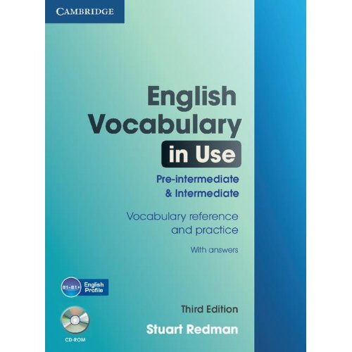 English Vocabulary in Use: Pre-intermediate and Intermediate (Third Edition) Book with answers and CD-ROM