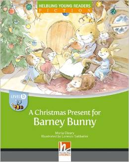 Helbling Young Readers Level B: A Christmas Present for Barney Bunny with CD-ROM/Audio CD