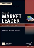 Market Leader 3rd Edition Extra Intermediate Coursebook and DVD-ROM Pack