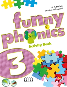 Funny Phonics 3 Activity Book with Audio CD/CD-ROM
